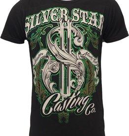 Silver Star Mint Premium Foil T-shirt L