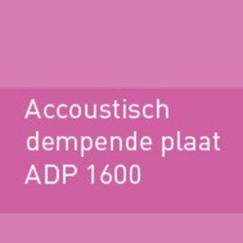Geluiddempende plaat 1600 (ADP)