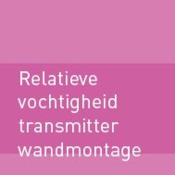 Relatieve vochtigheid (RV) transmitter - wandmontage