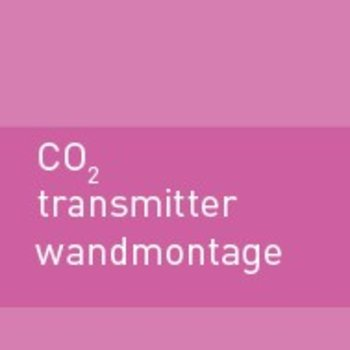 CO2  transmitter wandmontage