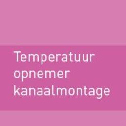 Temperatuuropnemer kanaalmontage