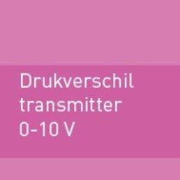 Drukverschiltransmitter 0-10V met toebehoren