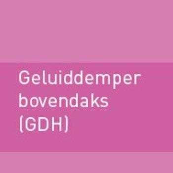 Geluiddemper bovendaks 400 (GDH)