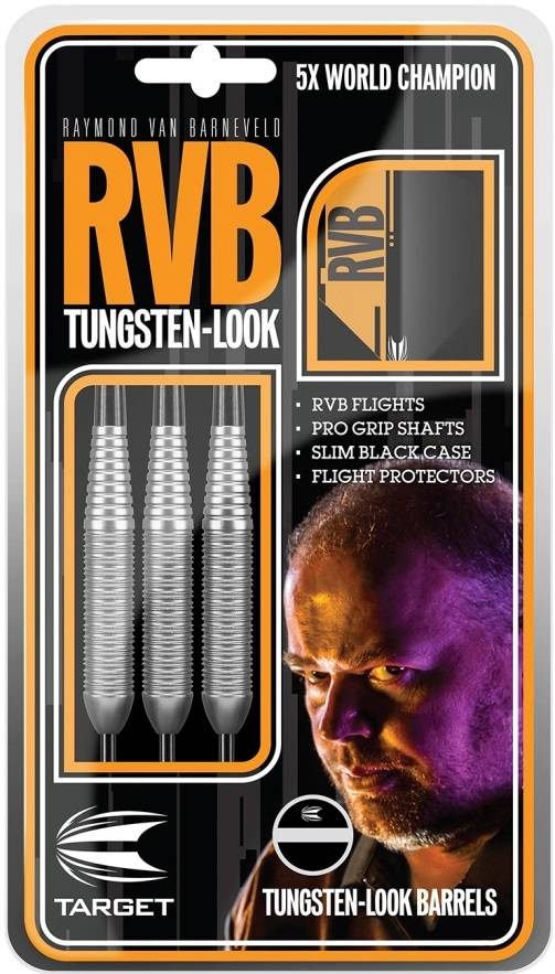 Target Darts Raymond van Barneveld RVB Tungsten Look