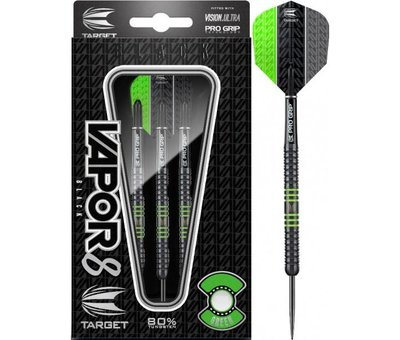 Target Darts Vapor 8 Black Green Darts