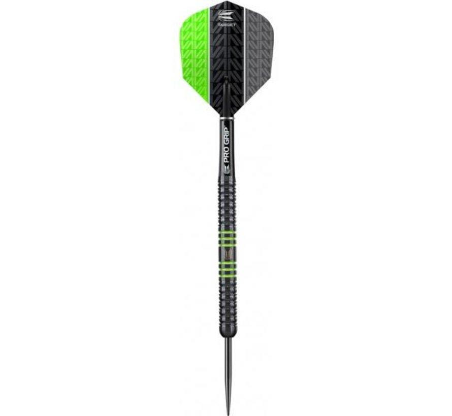 Vapor 8 Black Green Darts