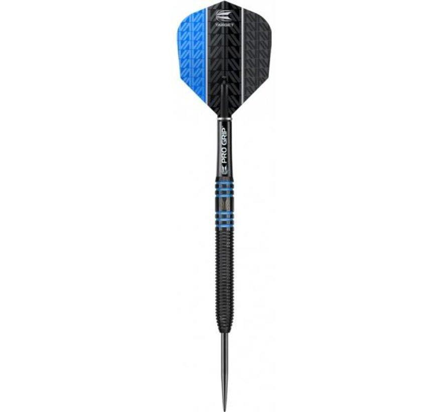 Vapor 8 Black Blue Darts