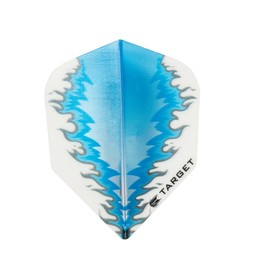 Target Darts VISION WHITE- BLUE FIRE