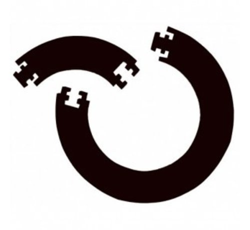 Bull's GUARD 4 PCS. FOAM SURROUND - Black