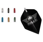 Bull's FLIGHT PROTECTOR ALI - Silver 3pcs.