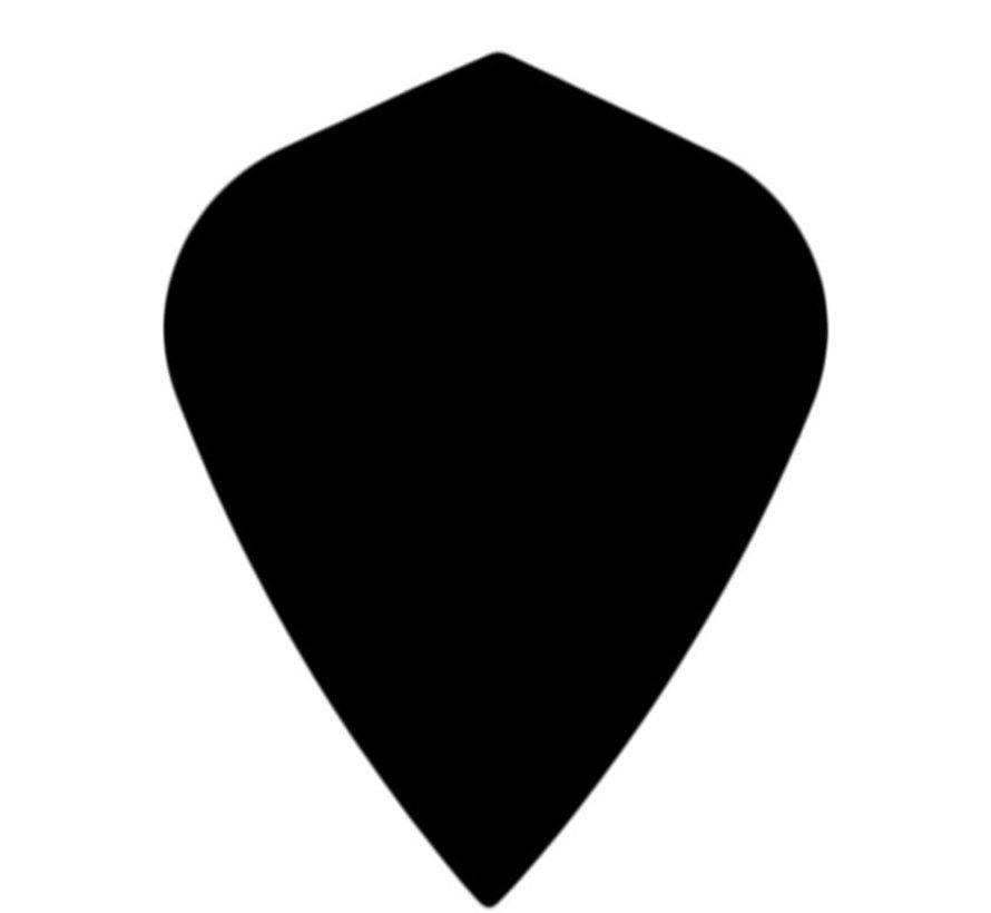 "POLYNA Plain Kite Flight ""Black"""