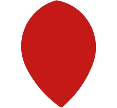 "Bull's POLYNA Plain Pear Flight ""Red"""