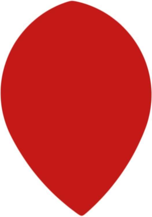 Bull's POLYNA Plain Pear Flight Red