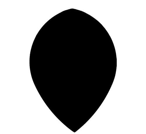 "Bull's POLYNA Plain Pear Flight ""Black"""