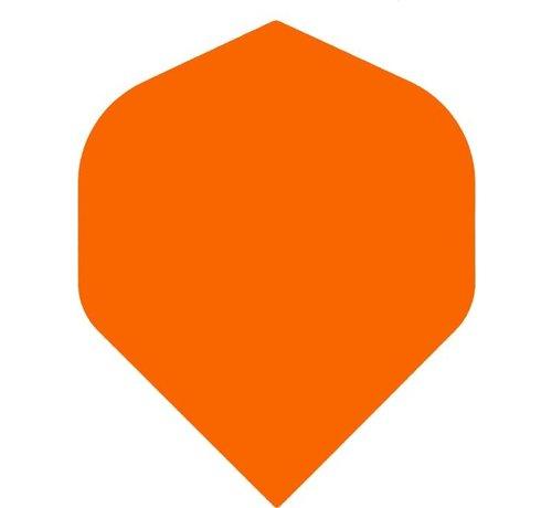 "Bull's Darts: The darts in the air! POLYNA Plain Standaard Flight ""Orange"""