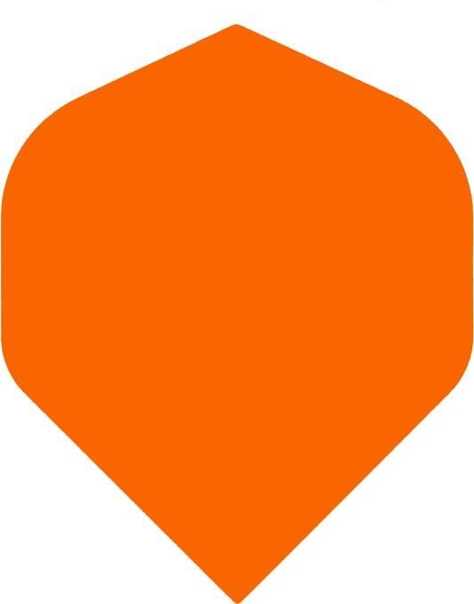 Bull's POLYNA Plain Standaard Flight Orange
