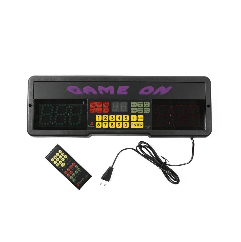 Bull's GAME ON Scoreboard + Remote
