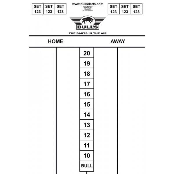 Bull's BUDGET WHITEBOARD 45 x 30cm
