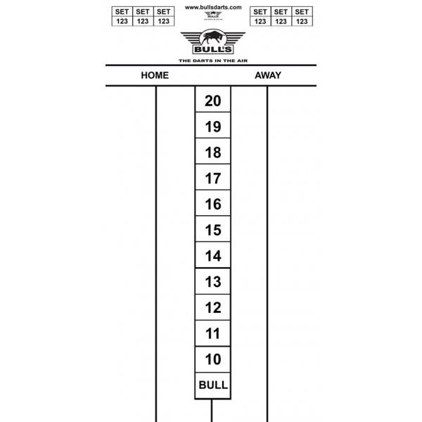 Bull's BUDGET WHITEBOARD 60 x 30cm