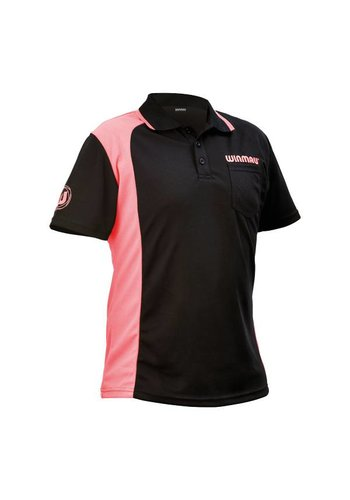 Winmau zwart/roze dartshirt XL