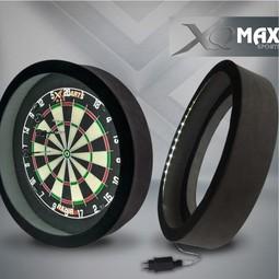 XQ-Max Darts XQ-Max Led Surround en Dartbord