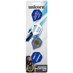Unicorn Darts Unicorn Gary Anderson 4-Pack Flights