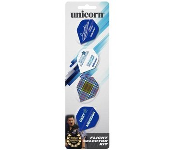 Unicorn Darts Unicorn Gary Anderson 4-Pack Flights