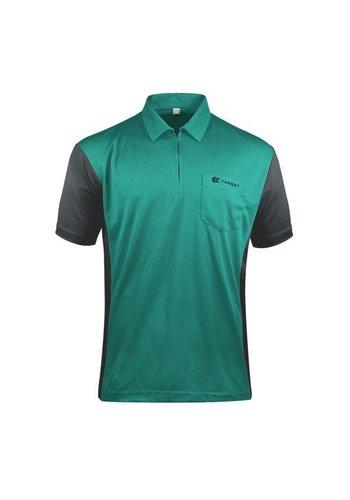 Dartshirt Target COOLPLAY HYBRID 3 Turquoise-Grey