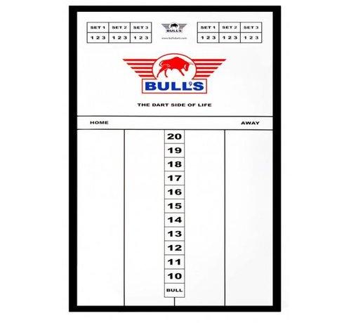 Bull's Styreen scorebord 45x30cm