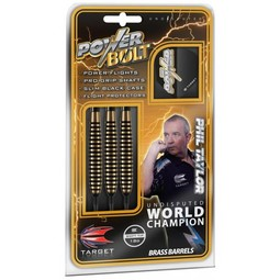 Target Darts Taylor Power-Bolt Brass Soft Tip 18g Dartpijlen