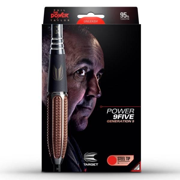 Target Darts Gen 5 Phil Taylor Power 9Five 95% Tungsten