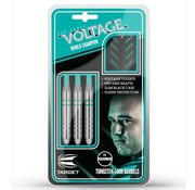 Target Darts Rob Cross Silver Voltage Tungsten Look Darts