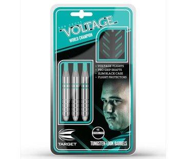 Target Darts Rob Cross Silver Voltage Tungsten Look Darts