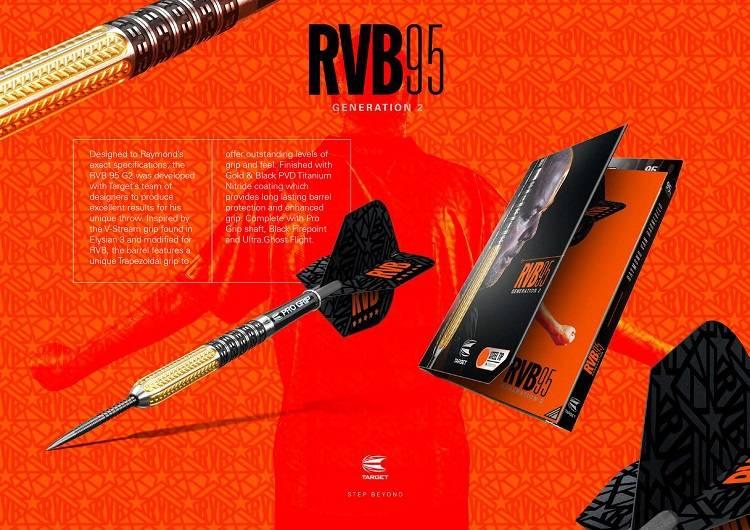 Target Darts RVB95 gen 2 95% Tungsten