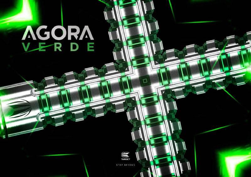 Target Darts Agora Verde AV03 90% Tungsten Darts