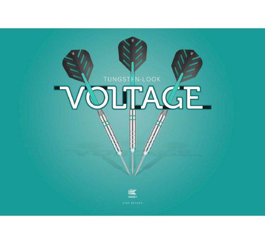 Rob Cross Silver Voltage Tungsten Look Darts