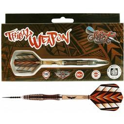 Shot! Darts Tribal Weapon II 90% Centre-Weight - D