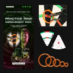 Winmau Darts Simon Whitlock Practice Ring Improvement Pack