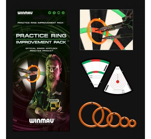 Winmau Darts Simon Whitlock Practice Ring Improvement Pack