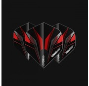 Winmau Darts Prism Alpha Black and Red