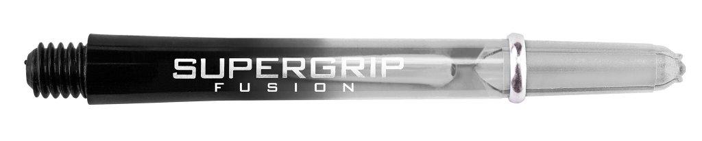 Harrows Darts Supergrip Fusion Two Tone Clear/Black