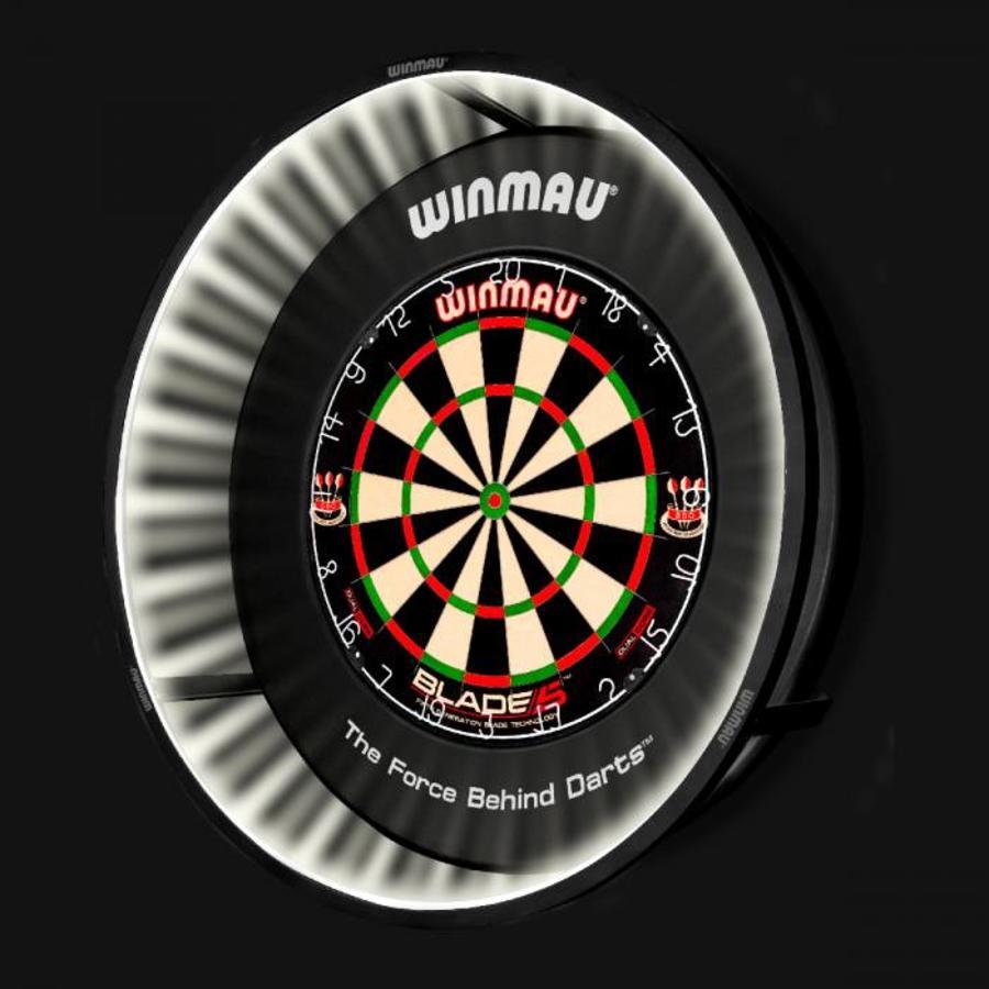 plasma dartbord verlichting 2