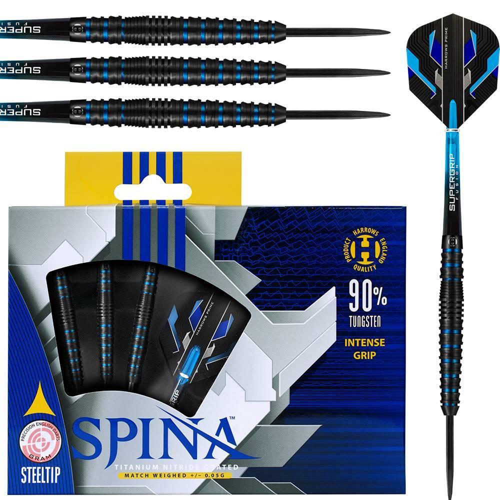 Harrows Darts Harrows Spina Blauw 90% Tungsten