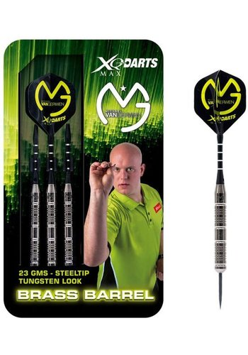 Michael van Gerwen Tungsten Look Brass darts