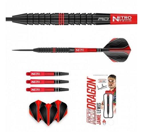 Red Dragon darts Jamie Lewis 90% Tungsten Dartpijlen