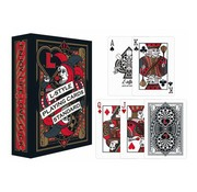 Speel kaarten met dart thema