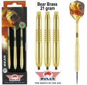 Bull's New BEAR Brass Dartpijlen