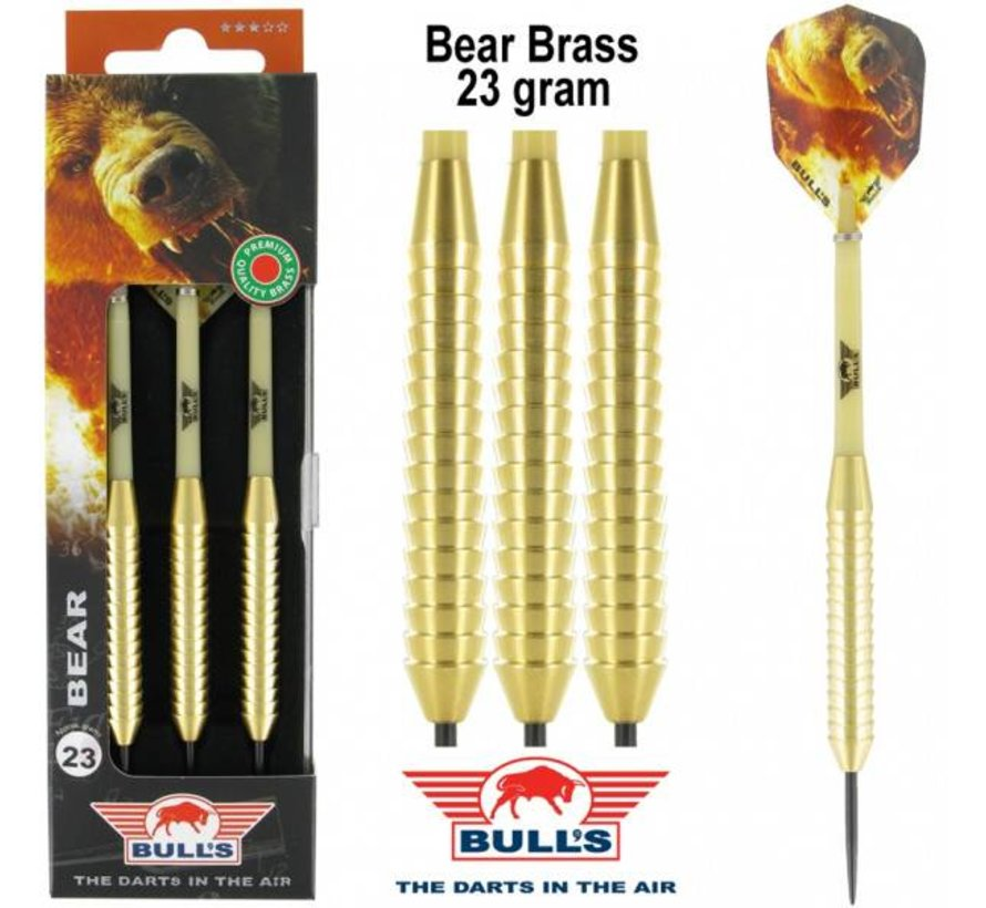 New BEAR Brass Dartpijlen