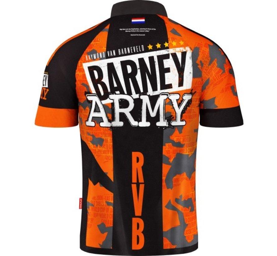 Target Raymond van Barneveld Barney Army Dartshirt 2019