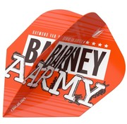 Target Darts RVB Barney Army Orange Flights